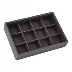 Mini Men Charcoal Grey 12 Sec 18 X 12.5 X 3.5cm