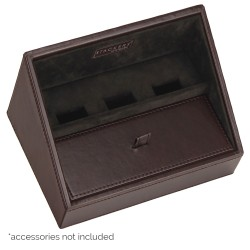 Mini Charging Valet Men Brown & Brown