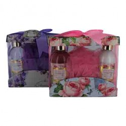 Giftset Country Fresh Douchegel + Bodylotion 170ml + Puff Spons
