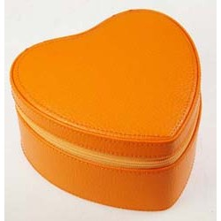 DULWICH ORANGE HEART JEWEL CASE