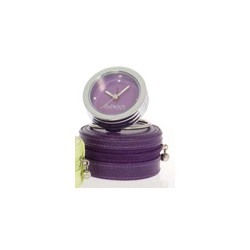 DULWICH TRAVEL CLOCK PURPLE