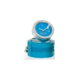 DULWICH TRAVEL CLOCK BLUE/TEAL