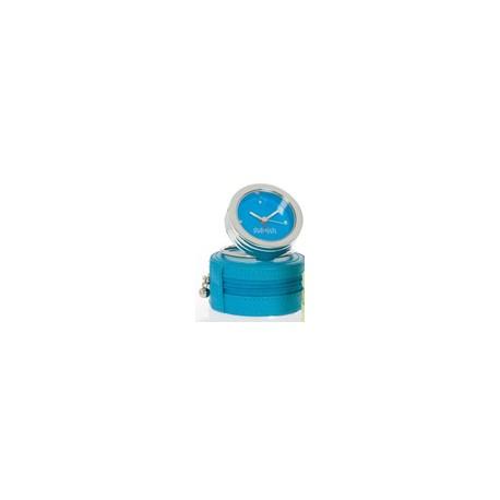 DULWICH TRAVEL CLOCK BLUE/TEAL