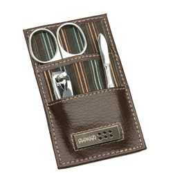 DULWICH MEN BROWN MANICURE SET (6 x 1 x 10.5 CM)