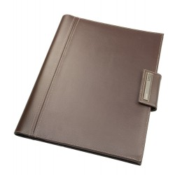 DULWICH MEN BROWN DOCUMENT FOLDER (25.5x2.5x33 CM)