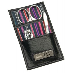 DULWICH MEN BLACK MANICURE SET (6 x 1 x 10.5 CM)