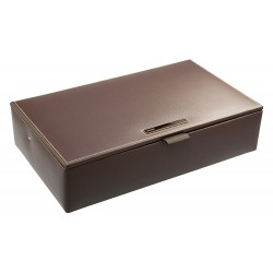 DULWICH MEN BROWN WATCH BOX ( 32 X 19 X 8 CM )