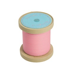 BUTTON IT BOBBIN PIN CUSHION PINK (6.5x6.5x7.5)