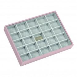 Soft Pink 25 Sect 25 X 18 X 3.5 Cm