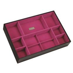 XL Deep Open Black / Pink