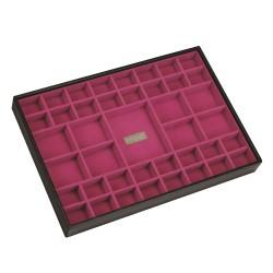 XL Criss Cross Black / Pink