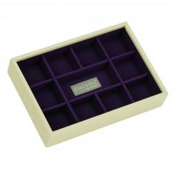 Mini Cream & Pur 5 Sec 18 X 12.5 X 3.5cm