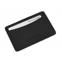 STACKER BLACK ID CARD CASE