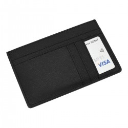 STACKER BLACK LARGE ID CARD CASE
