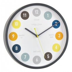 """Tell the time"" Wall Clock Diam 30 cm"