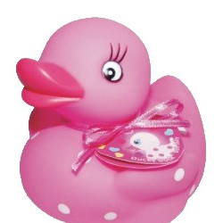 BATHGEL XL PINK DUCK 360 ML STRAWBERRY