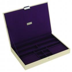 XL Top Cream Purple