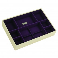 XL Deep Open Cream Purple