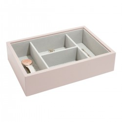 PINK BASE LEATHER STACKER