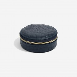 STACKERS MOCK CROC ROUND TRAVEL BOX