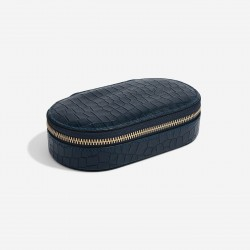 STACKERS MOCK CROC OVAL TRAVEL BOX