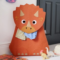 LITTLE STACKERS TRICERATOPS HAMPER