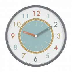 LITTLE STACKERS TELL THE TIME WALL CLOCK