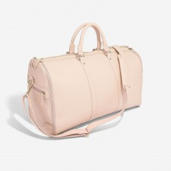 STACKER BLUSH ZIPPED SUIT BAG