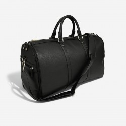 STACKER BLACK ZIPPED SUIT BAG