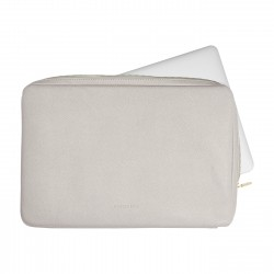 STACKER TAUPE LAPTOP SLEEVE