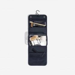 STACKER NAVY BLUE SMALL HANGING WASHBAG