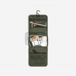 STACKER OLIVE GREEN SMALL HANGING WASHBAG