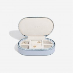 STACKER LAVENDER OVAL TRAVEL BOX