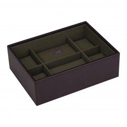 Watchbox 8 Pc Brown / Khaki