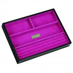 Black / Pink Ring/Brac 25 X 18 X 3.5 Cm