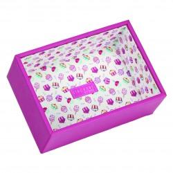 Mini Junior Pink Cupcake Deep Open