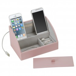 Mini Charging Valet Soft Pink