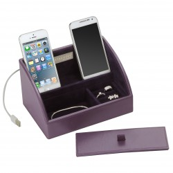 Mini Charging Valet Purple