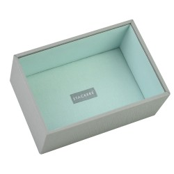 Mini Grey Mint Deep Open 18x 2.5x7 Cm