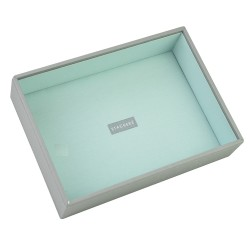 Grey Mint Deep 25 X 18 X 6 Cm