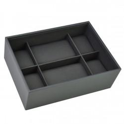 Classic Men Watch Charcoal Grey 25x18x8.5 Cm