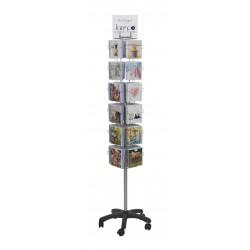 24 Pocket Floor Display Stand