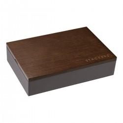 Mini Men Charcoal Grey 12 Sec + Lid 18 X 12.5 X 4.5cm