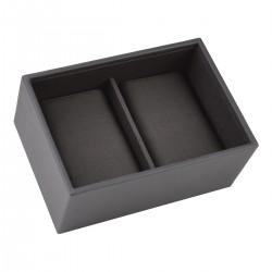 Mini Men Watch Charcoal Grey 18x12.5x8 Cm